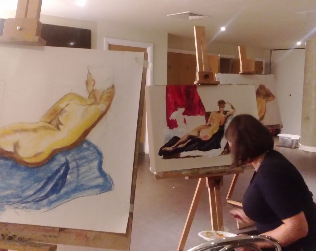 Life Drawing on Wednesday this summer