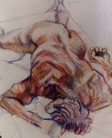 Life Drawing in June at OPEN