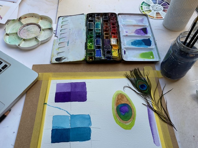 Adventures with Watercolour led by Gail Astbury