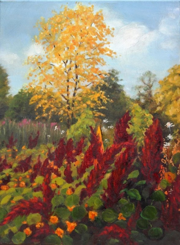 Painting Autumn in Oils with Diana Braybrook