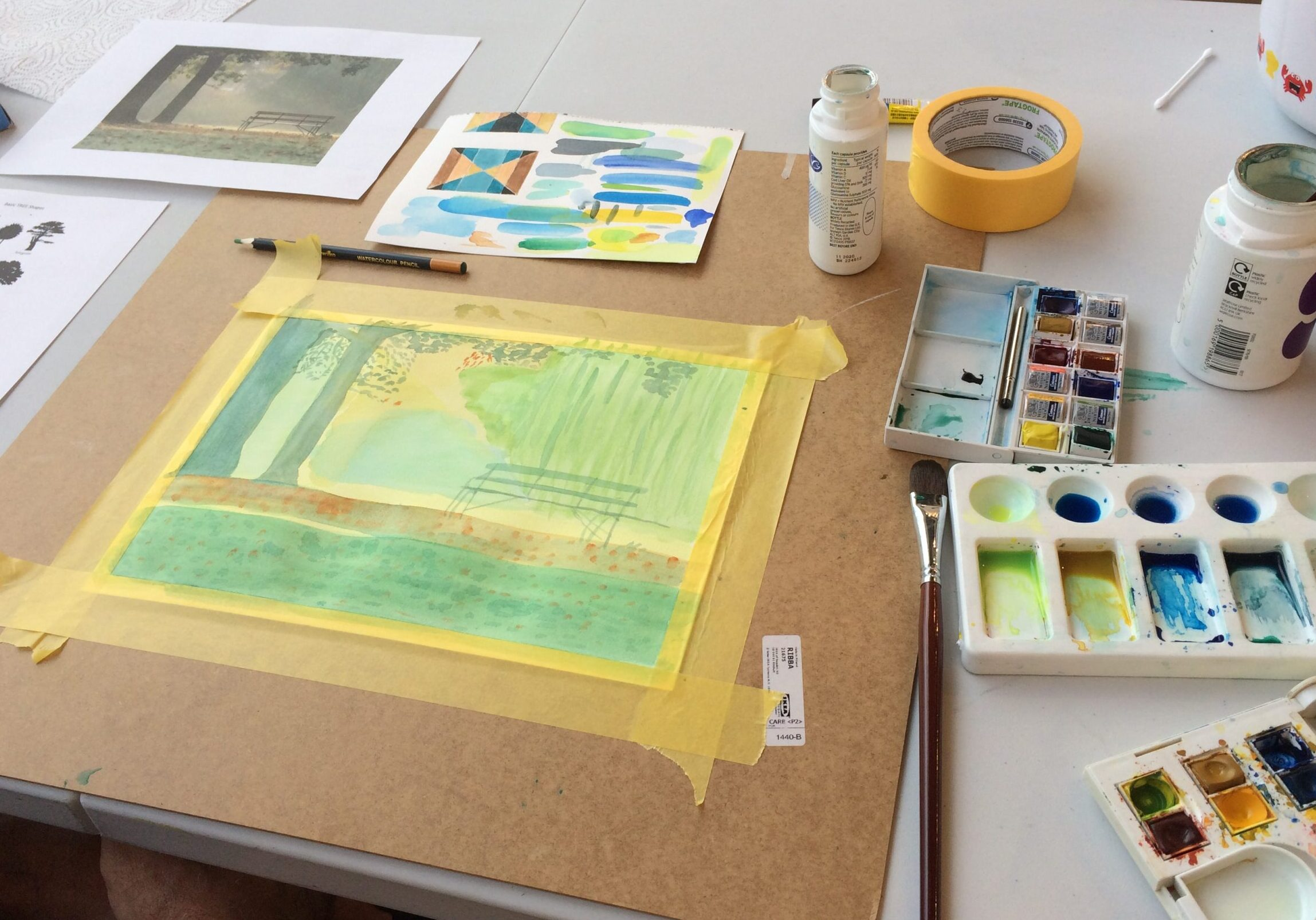 Learn Watercolour Techniques used by RWS members