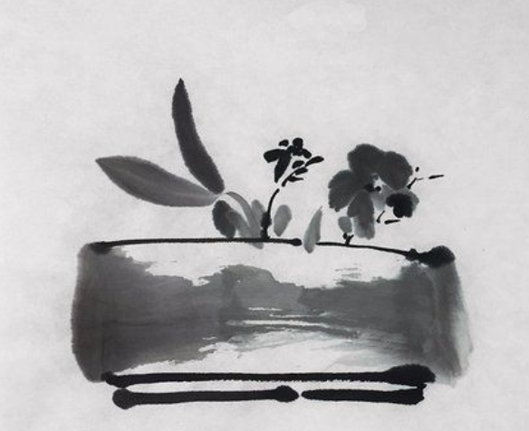 Develop your Sumi-e painting skills with Andrea Tierney