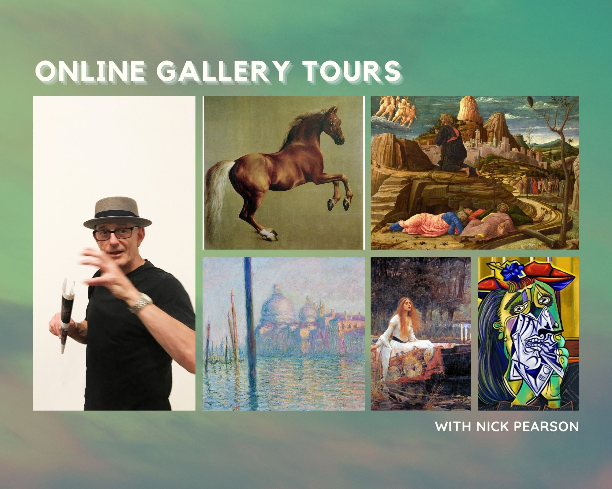 Online Gallery Tours in September with Nick Pearson