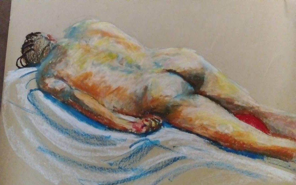 Life Drawing in September : a facilitated session