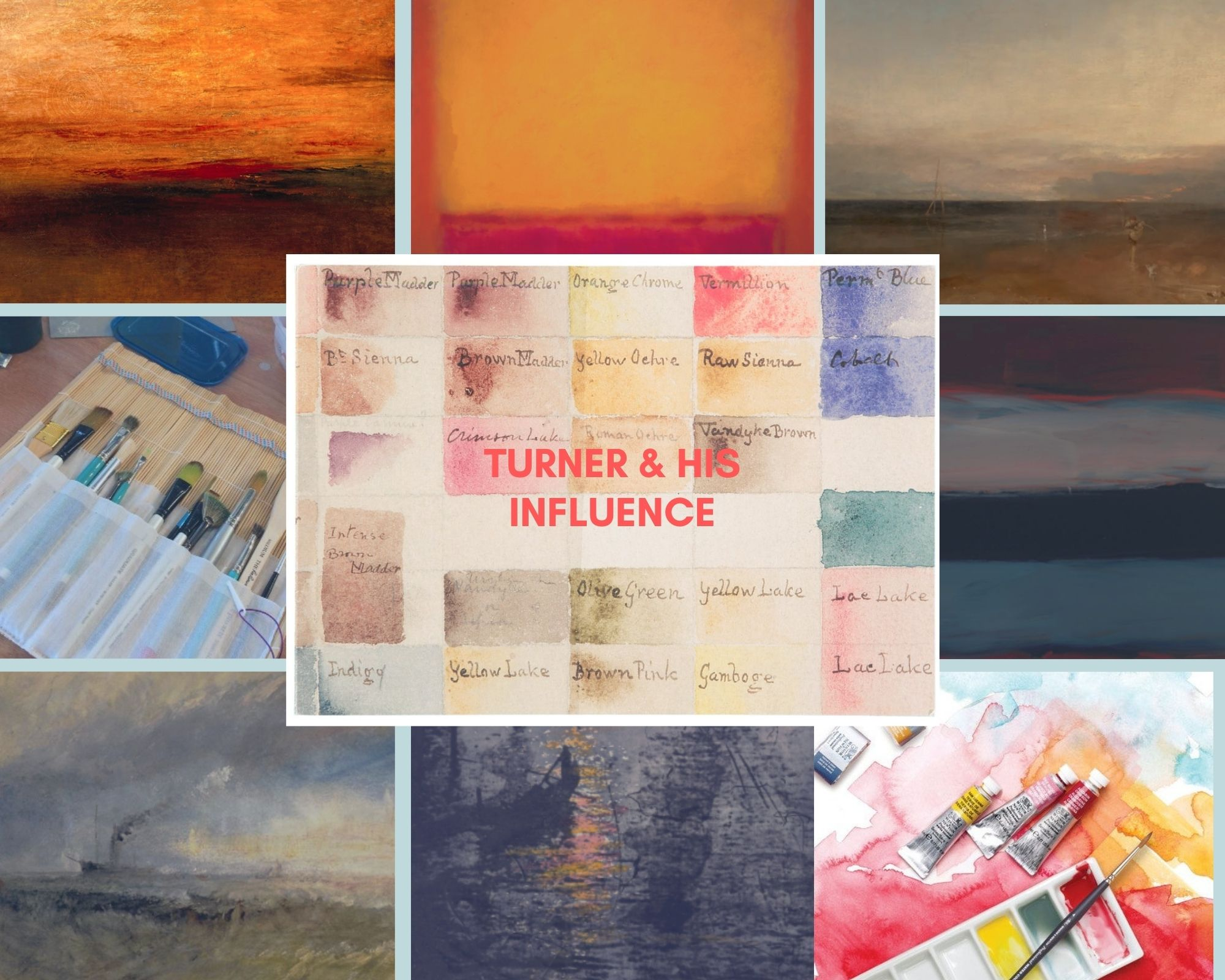 Turner and his influence on contemporary artists with Gail