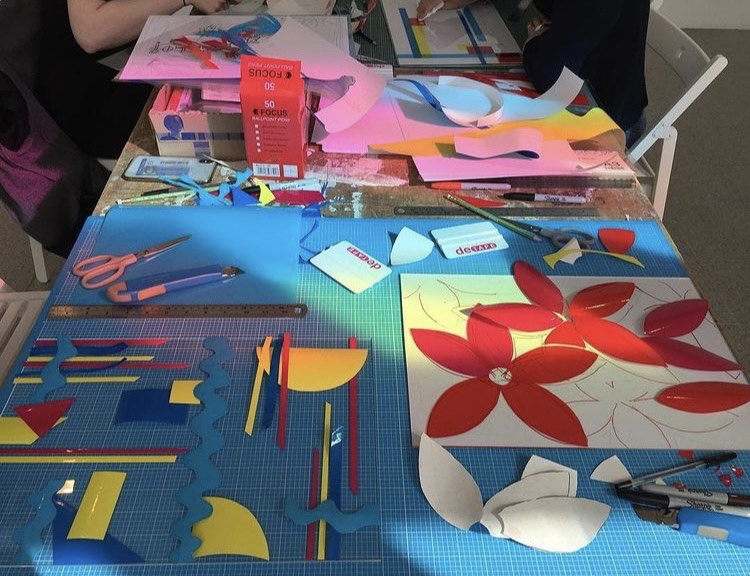 Colour Panels with Fiona Grady and Fresh Art Club