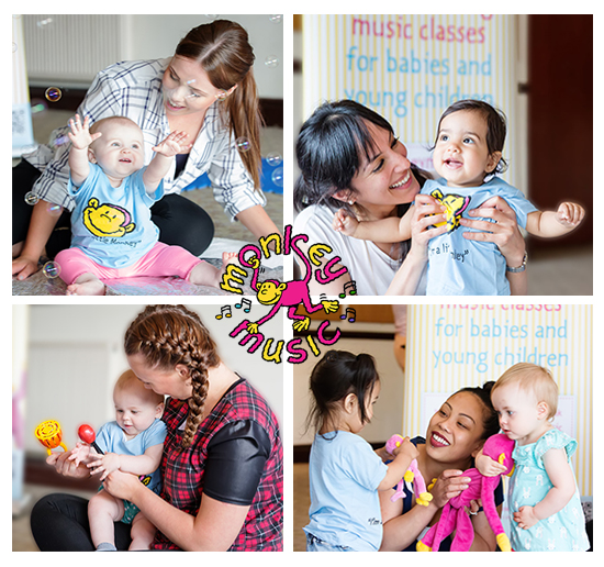 Monkey Music Classes for Babies & Toddlers