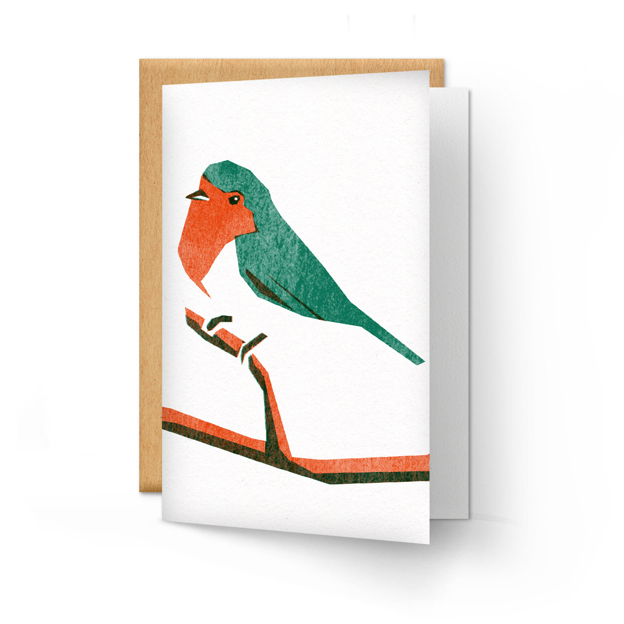 Screen printing Christmas cards with Daniel Haskett