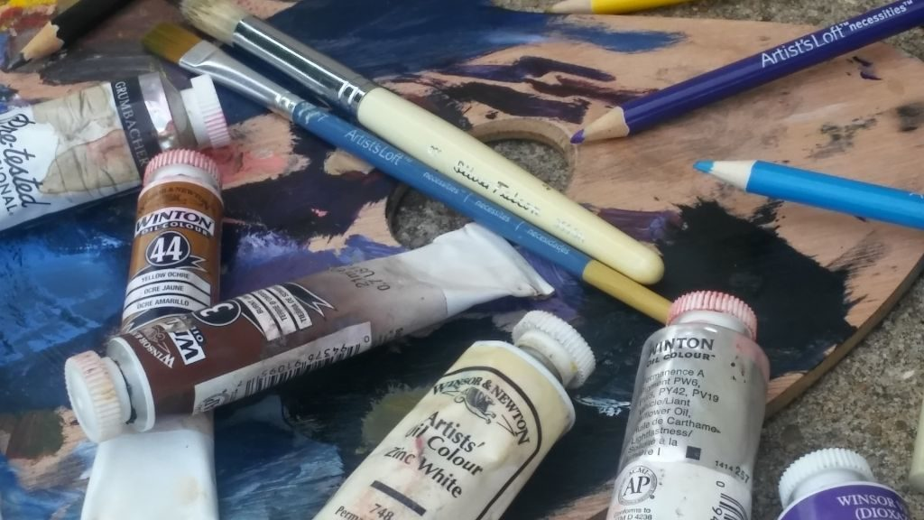 Painting in Oils : a 4 week course with Diana Braybrook